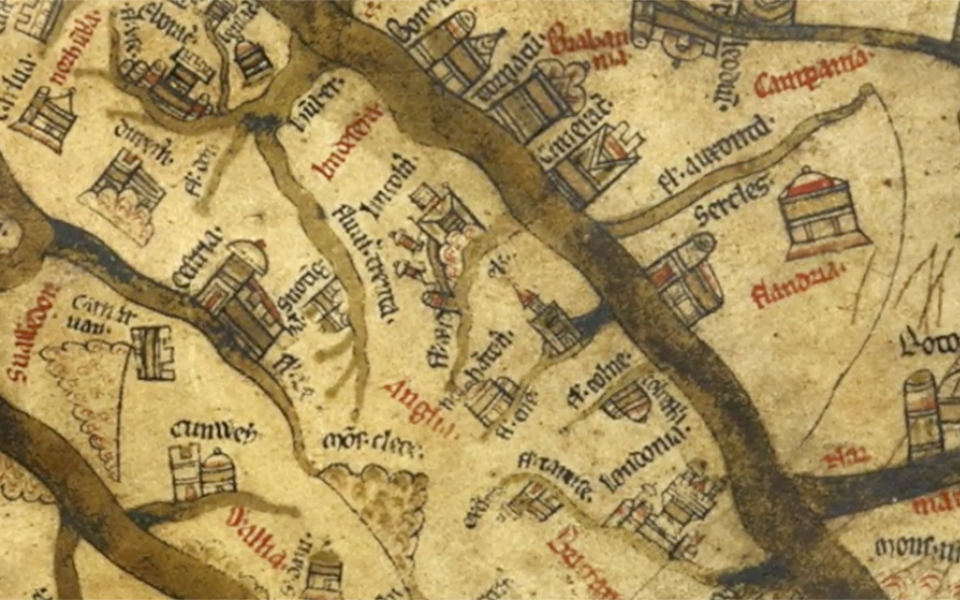 Mappa Mundi – A Medieval Vision of the World